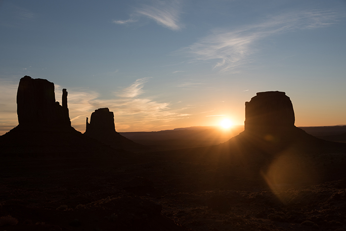 The many moods of Monument Valley
